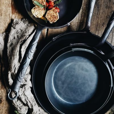 Bleu Forged Skillet Collection